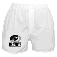 Gravity? Rock Climber Boxer Shorts