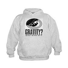 Gravity? Rock Climber Hoodie