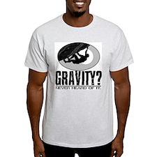 Gravity? Rock Climber T-Shirt