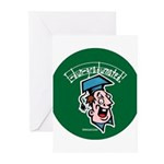 Hilarious Graduation Gift Greeting Cards (Package