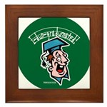 Funny Graduation Gift Framed Tile