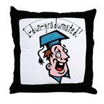 Hilarious Graduation Gift Throw Pillow
