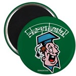"Funny Graduation Gift 2.25"" Magnet (10 pack)"