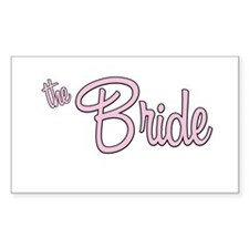 The Bride Rectangle Decal