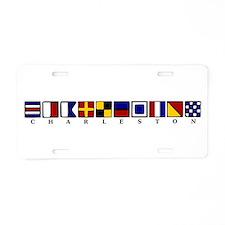 Nautical Charleston Aluminum License Plate