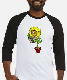 Unique Library book plants gardening Baseball Jersey