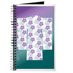 Flowered Yukata Journal