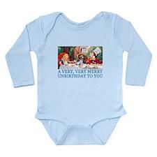 A VERY MERRY UNBIRTHDAY Long Sleeve Infant Bodysui