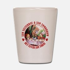 THE MAD HATTER'S RULES Shot Glass