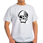 Tribal Skull (Black) Ash Grey T-Shirt