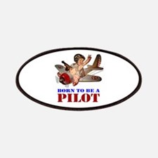 BORN TO BE A PILOT Patches
