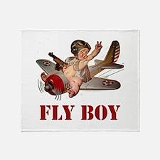 FLY BOY Throw Blanket