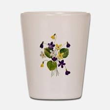 VIOLETS Shot Glass