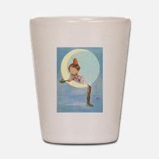 BOY IN THE MOON Shot Glass