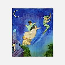 PETER PAN - FLYING Throw Blanket