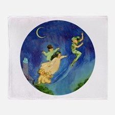 PETER PAN Throw Blanket