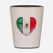 My Mexican Heart Shot Glass