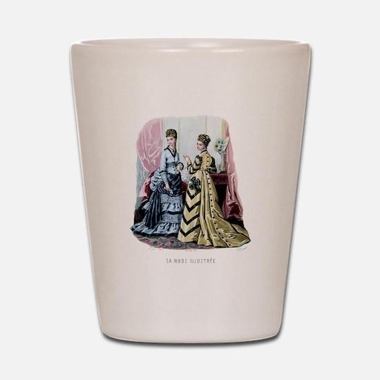 LA MODE ILLUSTREE - 1875 Shot Glass