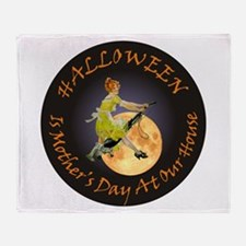 MOTHER IS A WITCH Throw Blanket