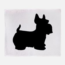 SCOTTY DOG Throw Blanket
