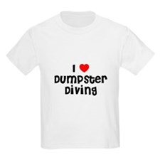 I * Dumpster Diving Kids T-Shirt