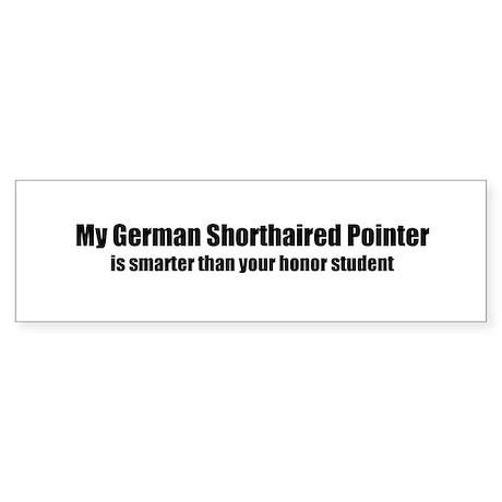 My German Shorthaired Pointer Bumper Sticker
