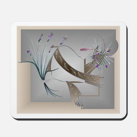 Flower Song Antique Mousepad