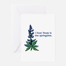 Bluebonnets in the Springtime Greeting Cards (Pack