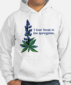 Bluebonnets in the Springtime Hoodie