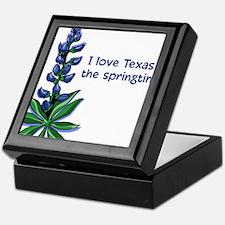 Bluebonnets in the Springtime Keepsake Box