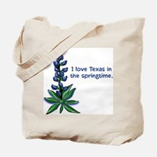 Bluebonnets in the Springtime Tote Bag