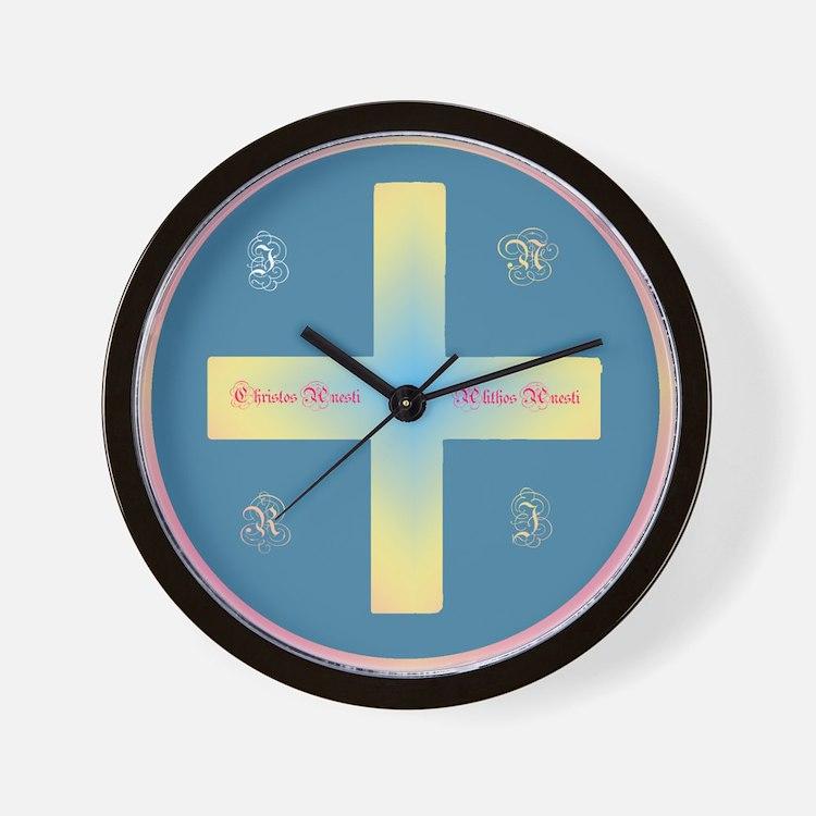 Christos Anesti Wall Clock