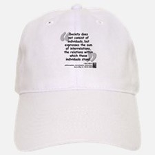 Marx Relations Quote Baseball Baseball Cap