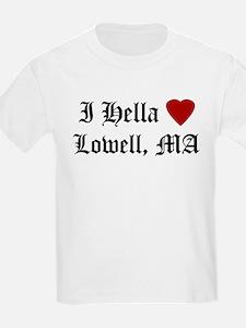 Hella Love Lowell Kids T-Shirt