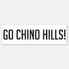 Go Chino Hills! Bumper Bumper Bumper Sticker