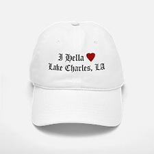 Hella Love Lake Charles Baseball Baseball Cap