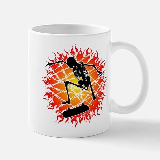 skeleton kickflip Mug