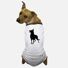 German Shepherd Silhouette Dog T-Shirt