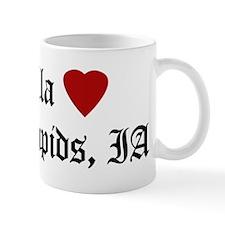 Hella Love Cedar Rapids Mug