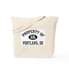 Property of Portland Tote Bag