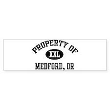 Property of Medford Bumper Bumper Sticker