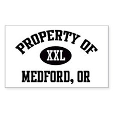 Property of Medford Rectangle Decal