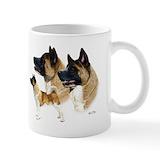 Akita Small Mugs (11 oz)