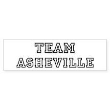 Team Asheville Bumper Bumper Sticker