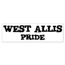 West Allis Pride Bumper Bumper Sticker