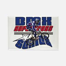 BMX Supercross Rectangle Magnet