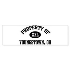 Property of Youngstown Bumper Bumper Sticker