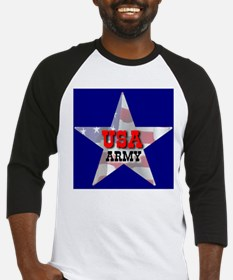 USA ARMY STAR Baseball Jersey