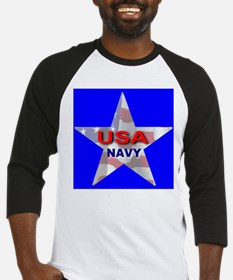 USA NAVY STAR #1 Baseball Jersey