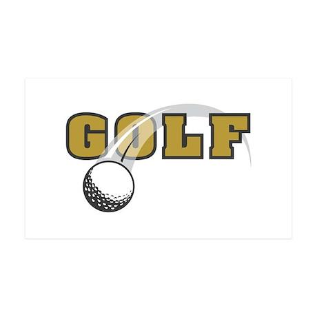 Golf Nuts 38.5 x 24.5 Wall Peel